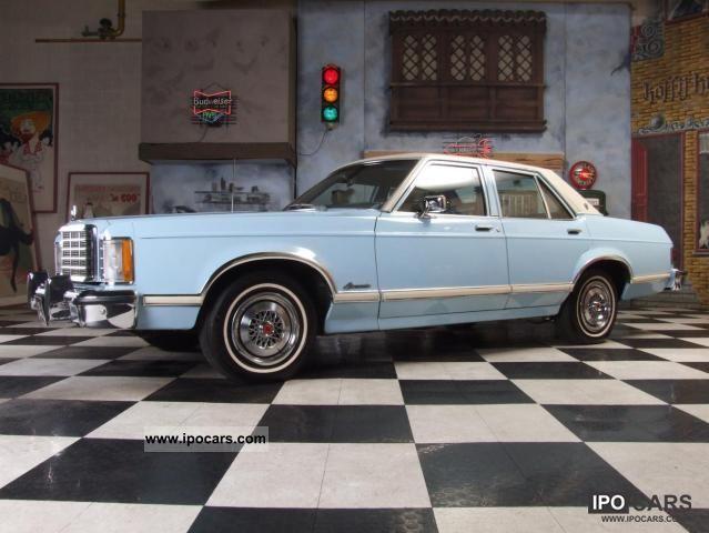 1977 Ford Granada 4 Door