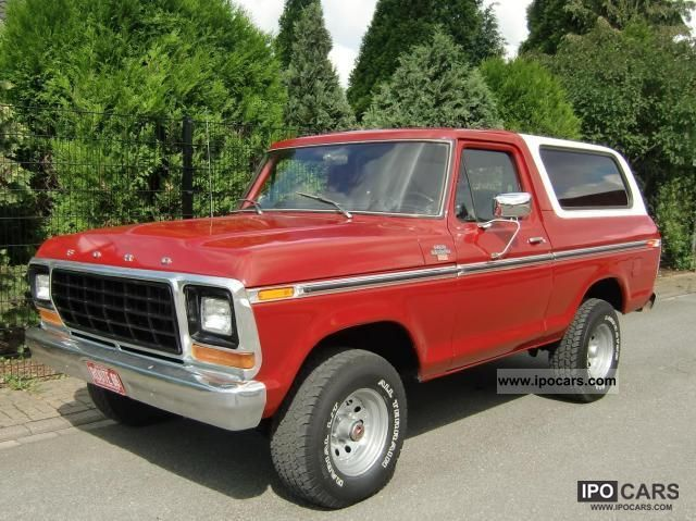 Ford  Bronco with H-and TÜV approval 1978 Vintage, Classic and Old Cars photo