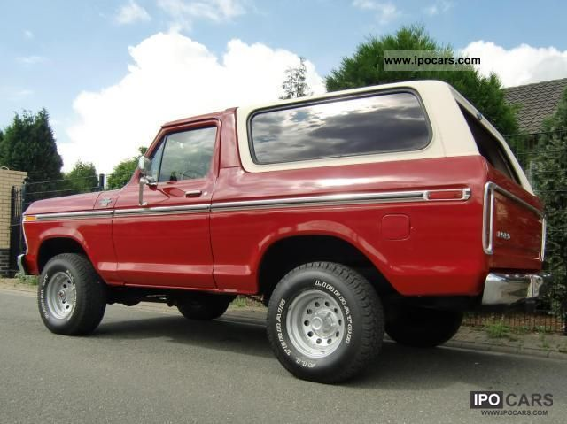 Famous 1978 Ford Bronco Specs Photos - Electrical Circuit Diagram ...