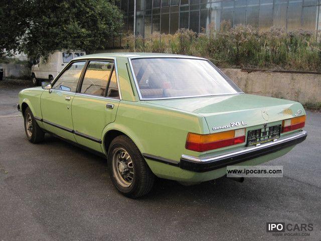 1978 Ford Granada Mk 2 2 0 L V6 Original Paint Car Photo