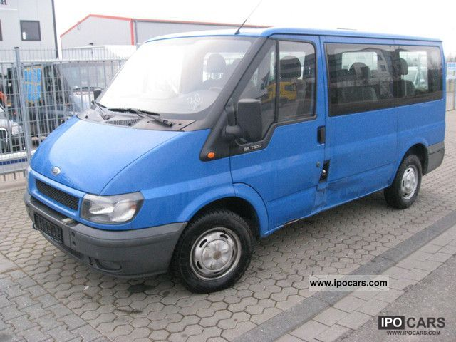 2004 ford transit tourneo 85 t 300 sitzebus 9 seats car photo and specs. Black Bedroom Furniture Sets. Home Design Ideas