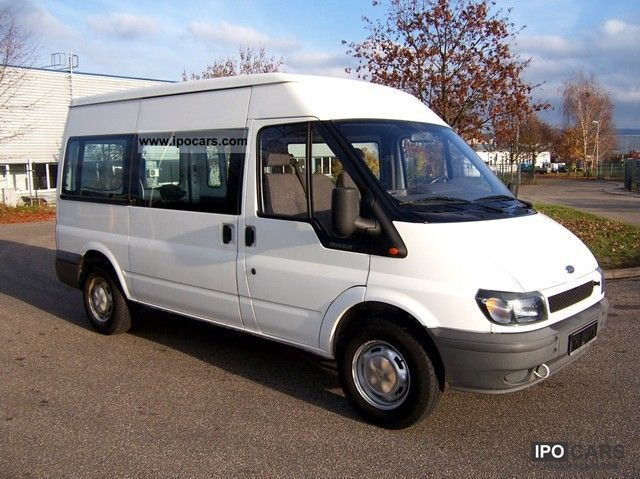 2000 Ford  FT 330 M + TDE M.Lang m.hoch 2 hand 112 Tkm.Euro 3 Van / Minibus Used vehicle photo
