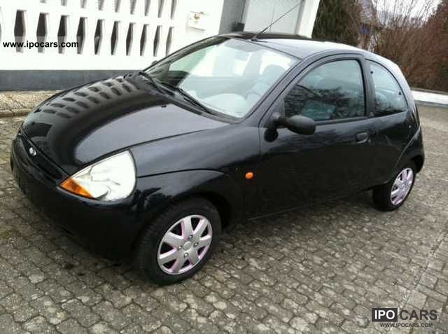 2000 ford ka 2 hand schwarzmet car photo and specs. Black Bedroom Furniture Sets. Home Design Ideas