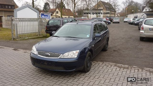 2006 Ford  Mondeo 2.0 TDCi DPF tournament automatic climate Navii Estate Car Used vehicle photo