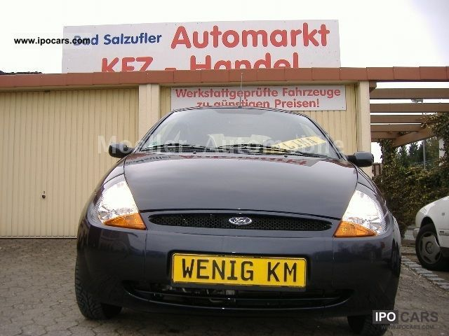 2008 Ford  Ka climate, Central, e-windows, power steering, orig.40580KM. Small Car Used vehicle photo