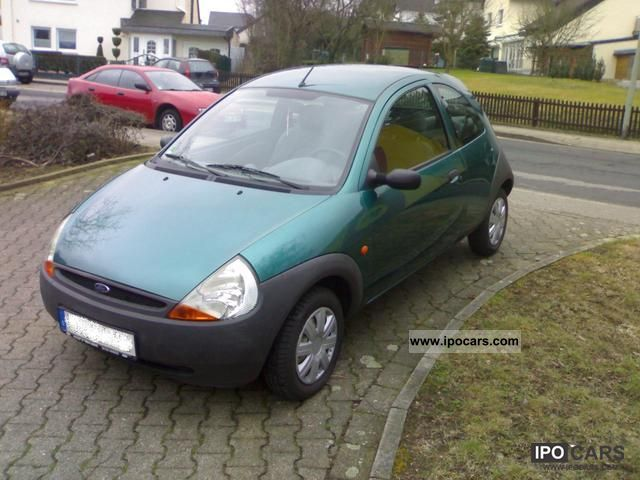 1999 ford ka kool 2 hand spruce top air conditioning radio cd car photo and specs. Black Bedroom Furniture Sets. Home Design Ideas