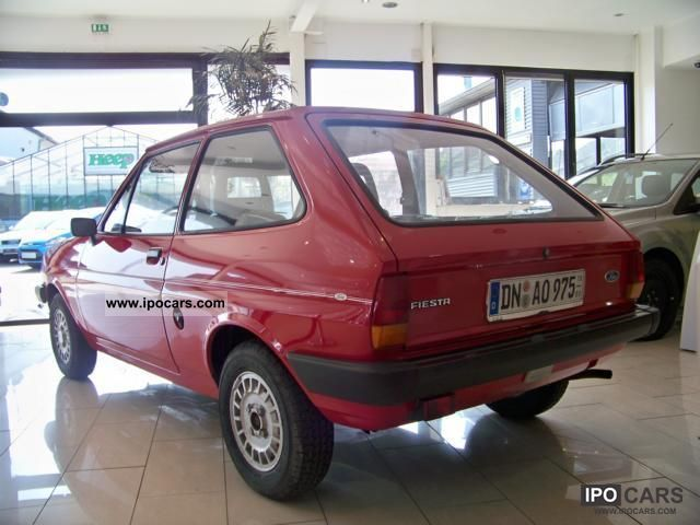 1982 Ford Vintage Fiesta Basic Model Car Photo And Specs