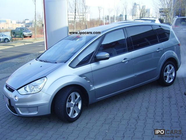 2007 ford s max 1 8 tdci titanium navi leather car photo and specs. Black Bedroom Furniture Sets. Home Design Ideas