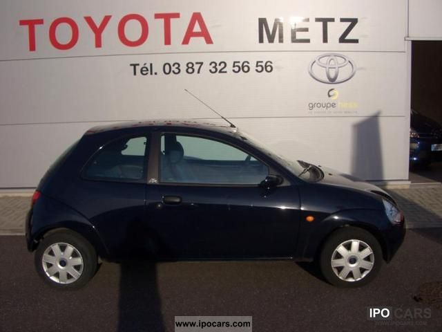 2007 ford ka 1 3 70ch sensors car photo and specs. Black Bedroom Furniture Sets. Home Design Ideas