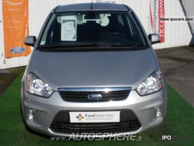 2010 ford c max 1 8 ghia tdci115 car photo and specs. Black Bedroom Furniture Sets. Home Design Ideas