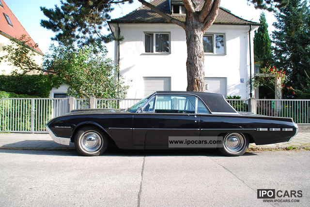 Ford  Thunderbird 1962 Vintage, Classic and Old Cars photo