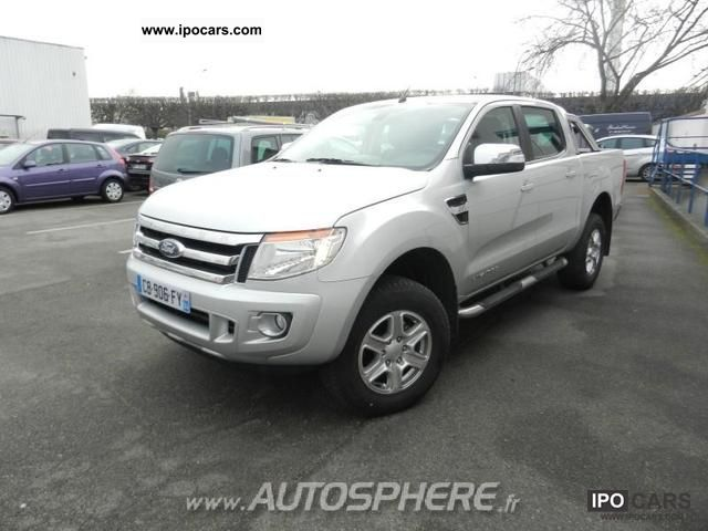 2012 Ford  Ranger XLT 4x4 Double Cabin Limited Off-road Vehicle/Pickup Truck Used vehicle photo