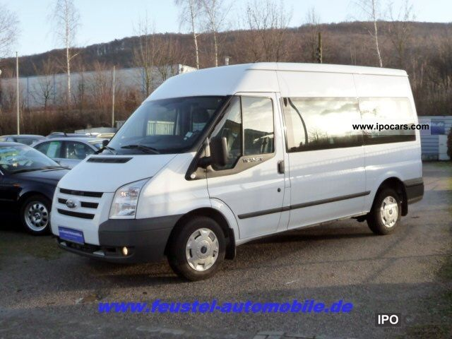 2010 Ford  Transit FT 300 M 2.2 TDCi Trend double PDC climate Van / Minibus Used vehicle photo