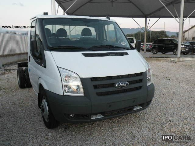 ford transit chassis cabina singola  car photo  specs