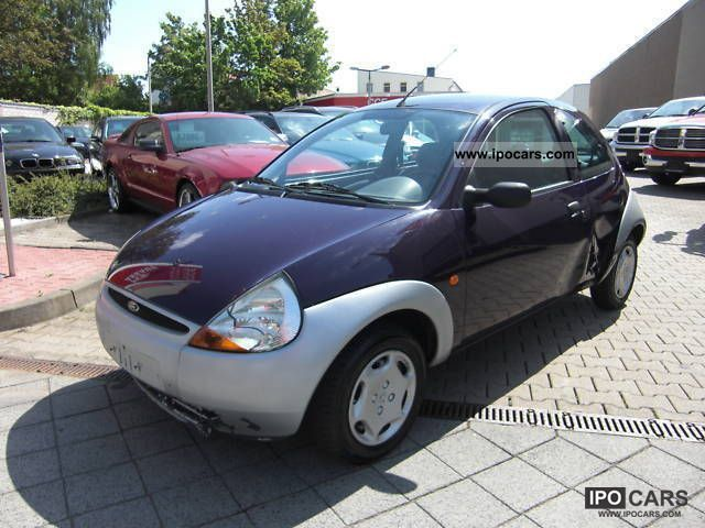 1998 ford ka servo air bag car photo and specs. Black Bedroom Furniture Sets. Home Design Ideas