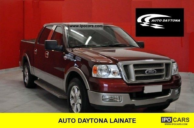 Ford  F 150 f 150 king ranch 1853 est. double cab 2005 Liquefied Petroleum Gas Cars (LPG, GPL, propane) photo