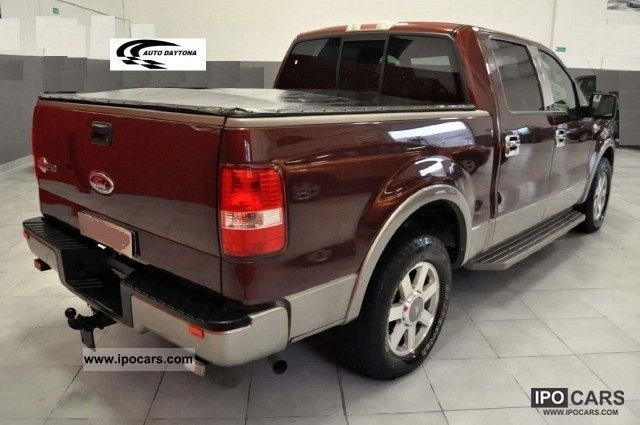 2005 ford f 150 f 150 king ranch 1853 est double cab car photo and specs. Black Bedroom Furniture Sets. Home Design Ideas