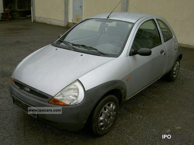 1999 Ford  Ka Collection Polar Silver Small Car Used vehicle photo