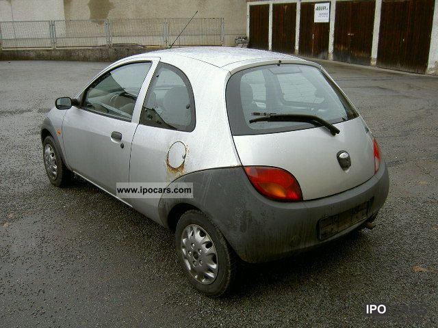 1999 ford ka collection polar silver car photo and specs. Black Bedroom Furniture Sets. Home Design Ideas