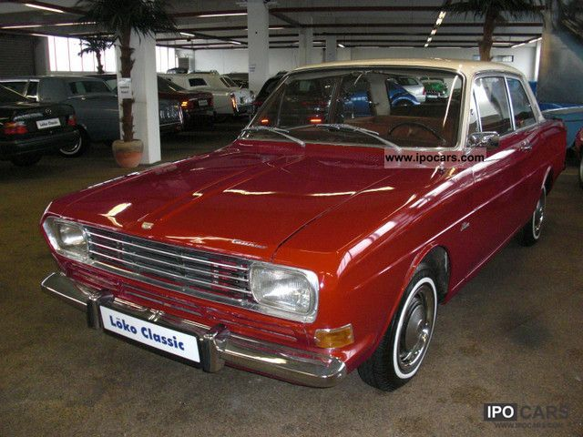 Ford  Taunus 15 M 1968 Vintage, Classic and Old Cars photo