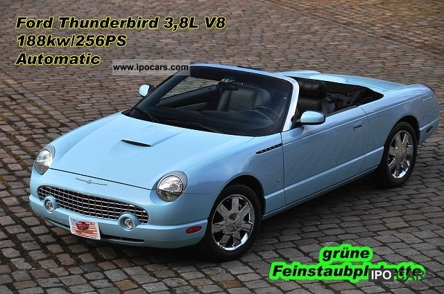 2003 Ford  Thunderbird V8 leather, aluminum 18 \ Cabrio / roadster Used vehicle photo