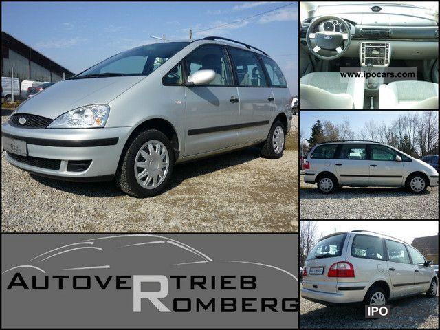 2002 Ford  Galaxy / 6 seats / AHK / Air / 1-hand / Van / Minibus Used vehicle photo