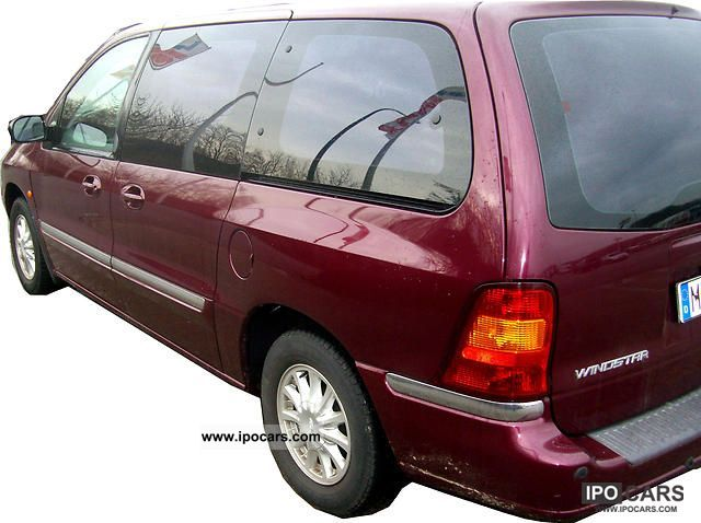 2001 Ford  Windstar 3.0 car garage TÜV again Van / Minibus Used vehicle photo
