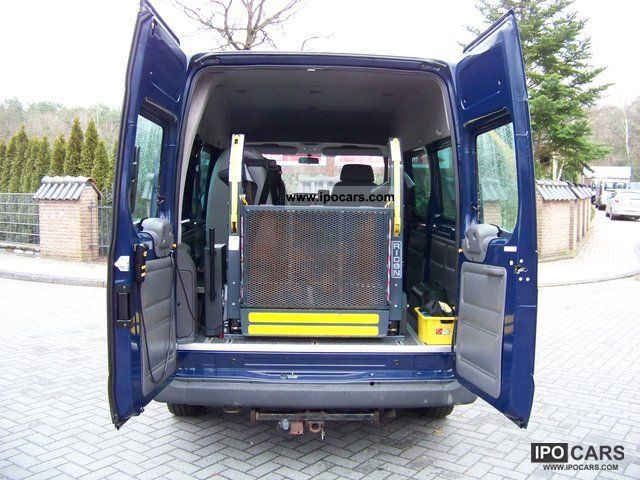 2004 Ford  300 S Transit wheelchair lift, Standhzg, swivel seat Van / Minibus Used vehicle photo