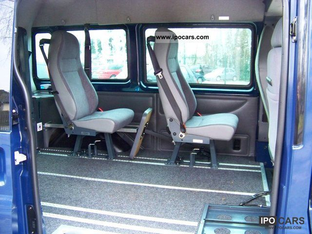ford   transit wheelchair lift standhzg swivel