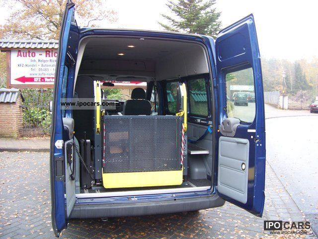 2010 Ford  Transit v. Ricon wheelchair lift 85T 300, Standhzg Van / Minibus Used vehicle photo