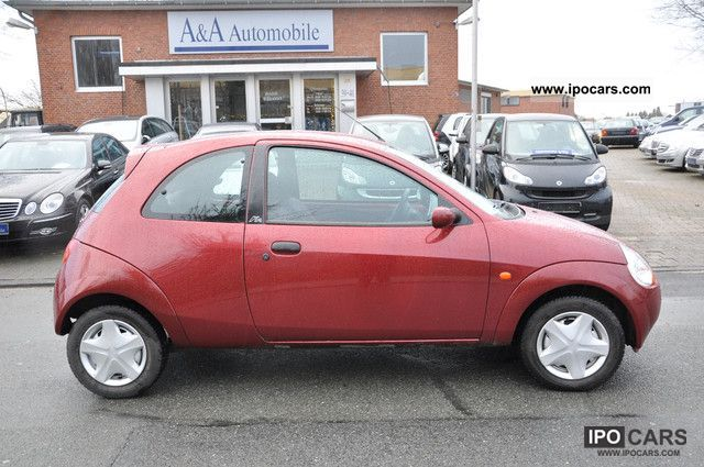 2001 ford ka abs servo air euro 4 car photo and specs. Black Bedroom Furniture Sets. Home Design Ideas