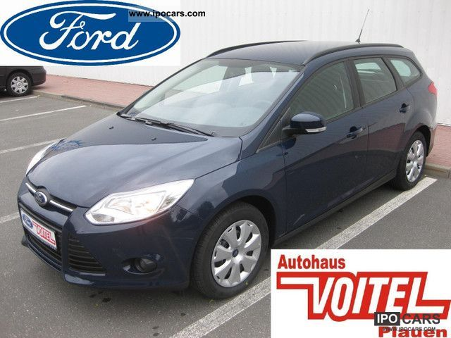 2012 Ford  Focus 1.6 TDCi DPF windscreen heating Estate Car Pre-Registration photo