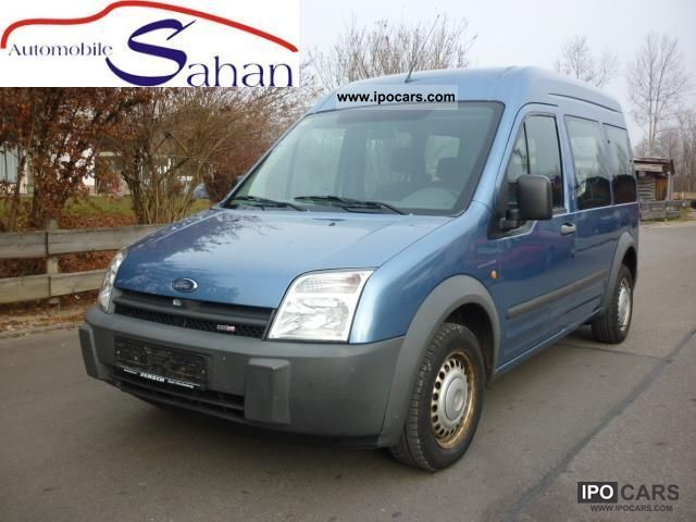 2003 Ford  Tourneo Connect (long) (2.Hand, air, AHK) Estate Car Used vehicle photo