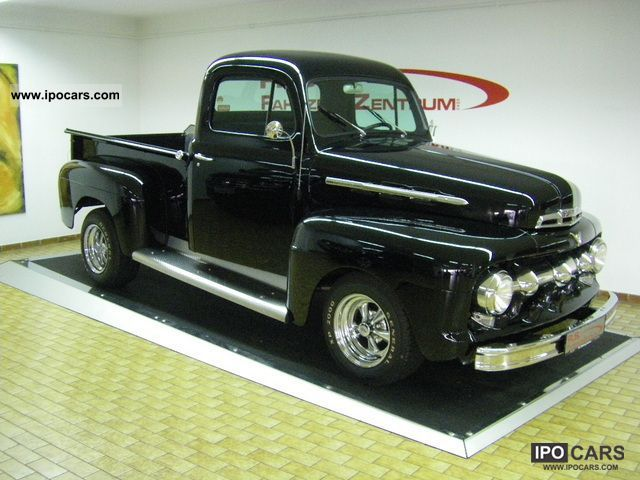 1952 Ford  F1 F100 Pickup V8 H-plates Off-road Vehicle/Pickup Truck Classic Vehicle photo