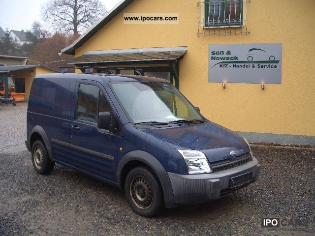 2004 Ford  Transit Connect 1.8 TD Van / Minibus Used vehicle photo