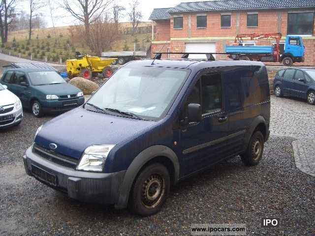2004 Ford Transit Connect 1 8 Td Car Photo And Specs