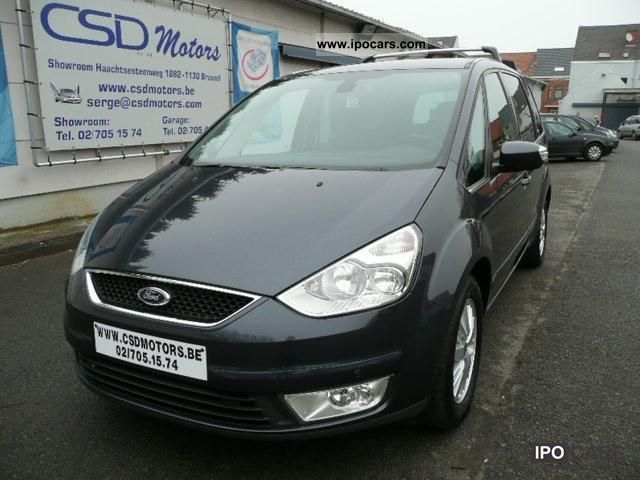 2007 Ford  Galaxy 2.0L TDI GHIA LEATHER CLIMATE NAVI Ver erkend Limousine Used vehicle photo