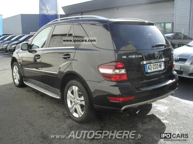 2009 mercedes benz classe ml 350 cdi sport pack car photo and specs. Black Bedroom Furniture Sets. Home Design Ideas