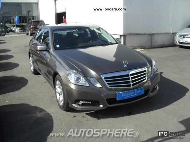 2009 Mercedes Benz Classe E 220 Cdi Avantgarde Be Exa C Cut B Car