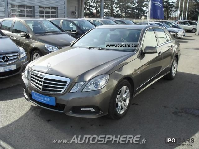 2009 mercedes benz classe e 220 cdi avantgarde be exa cut b car photo and specs. Black Bedroom Furniture Sets. Home Design Ideas