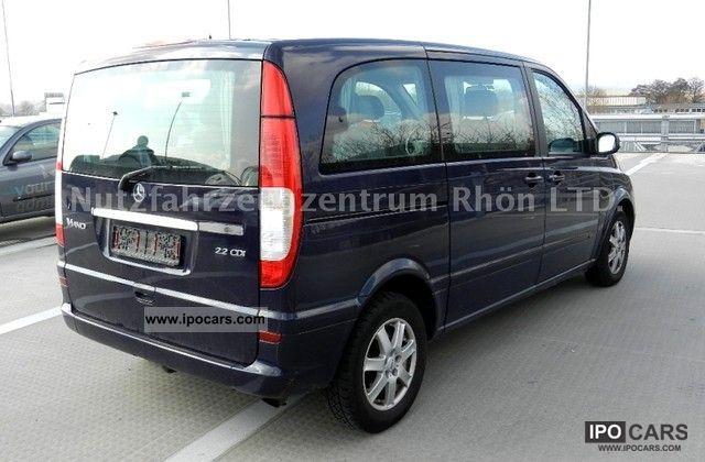2004 mercedes benz viano 2 2 cdi compact fun full for Mercedes benz f service