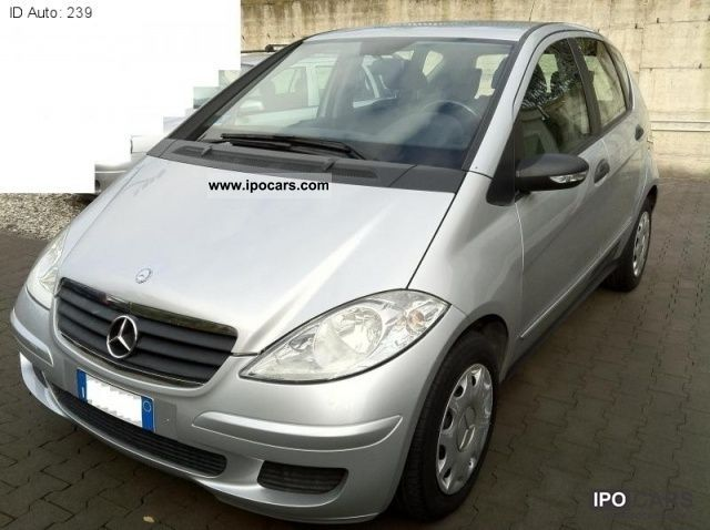 2005 mercedes benz a 180 cdi classic car photo and specs. Black Bedroom Furniture Sets. Home Design Ideas