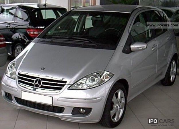 2005 Mercedes Benz A 180 Cdi Avantgarde Leather Seats Alufelg Car Photo And Specs