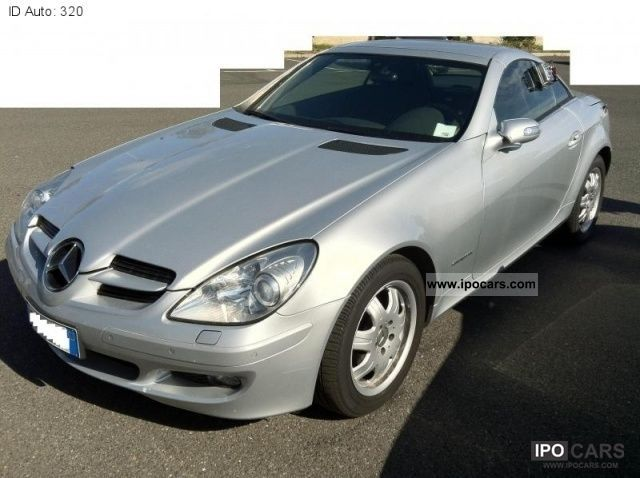 2006 mercedes benz slk 200 kompressor car photo and specs. Black Bedroom Furniture Sets. Home Design Ideas
