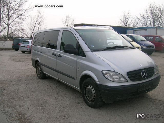 2006 mercedes benz vito 111 cdi car photo and specs. Black Bedroom Furniture Sets. Home Design Ideas
