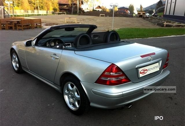 2003 mercedes benz slk 200 kompressor car photo and specs. Black Bedroom Furniture Sets. Home Design Ideas