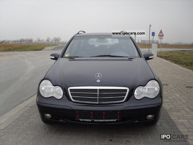 2001 mercedes benz c 200 cdi classic car photo and specs. Black Bedroom Furniture Sets. Home Design Ideas