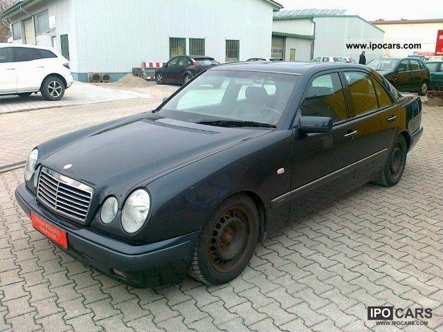 1998 Mercedes-Benz  E 280 Elegance, Automatic climate control, SGD, D4, leather ... Limousine Used vehicle photo