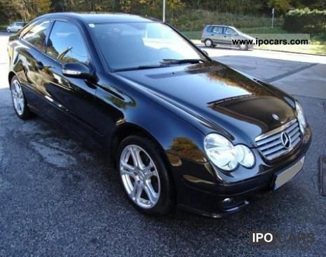 2004 mercedes benz c 220 cdi sports coupe sport edition auto dpf car photo and specs. Black Bedroom Furniture Sets. Home Design Ideas