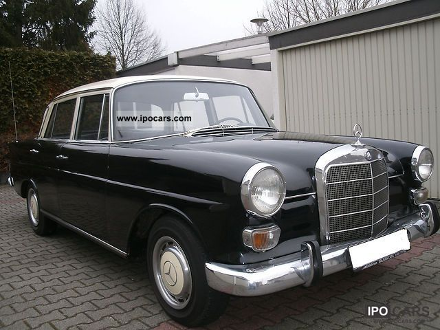 Mercedes-Benz  190 1965 Vintage, Classic and Old Cars photo